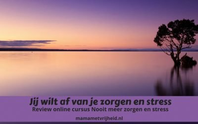 Review e-cursus nooit meer zorgen of stress