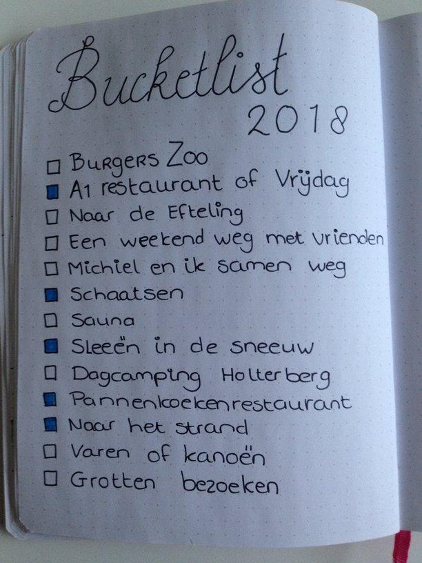 bucketlist 2018