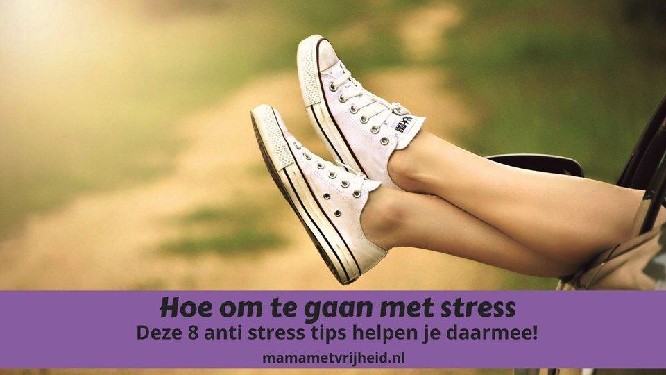 hoe om te gaan met stress