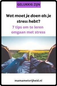 omgaan met stress 2