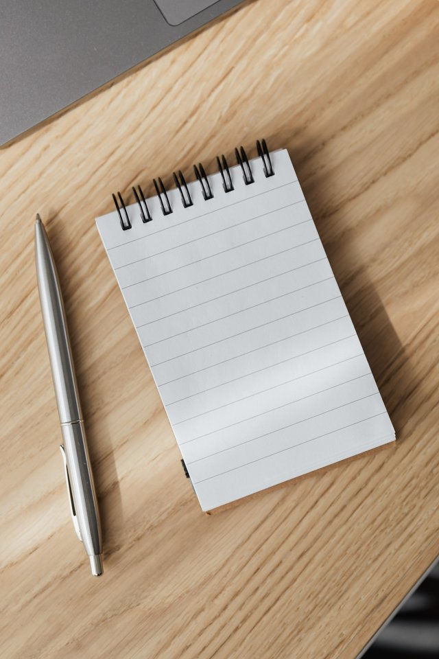 schrijf dingen op