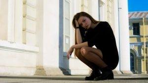 vrouw stress
