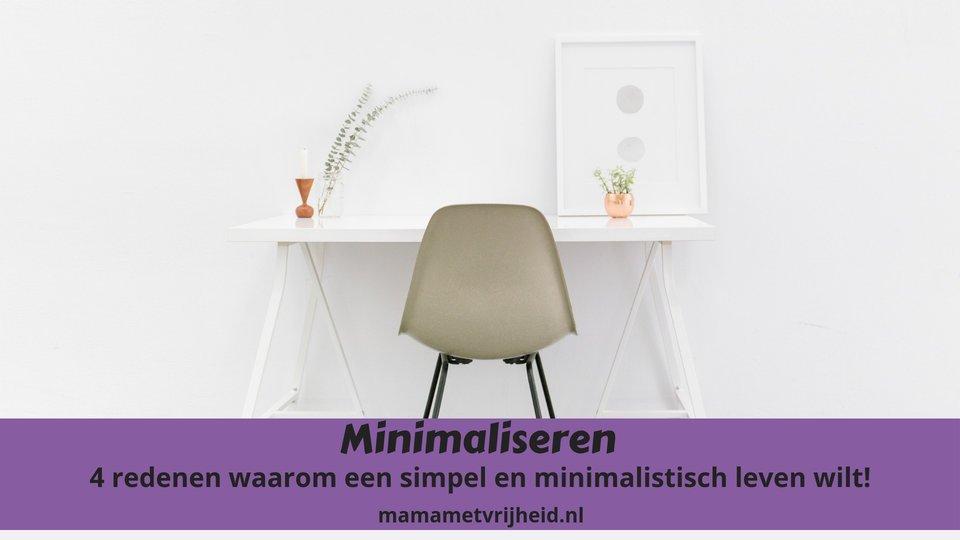 minimaliseren