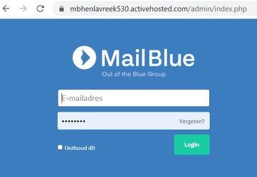 MailBlue inloggen