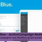 ActiveCampaign Nederland – Email campagnes met MailBlue (gratis proefaccount)