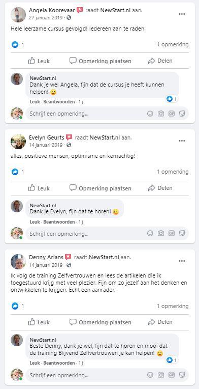 frank de moei newstart ervaringen facebook