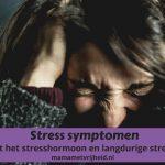 Stress symptomen – Ontdek of jij last van stress hebt