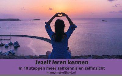 Jezelf leren kennen – In 10 stappen meer zelfinzicht en zelfkennis