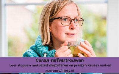 Cursus zelfvertrouwen – Leer stoppen met jezelf wegcijferen en je eigen keuzes maken