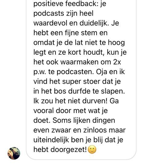 testimonial podcast