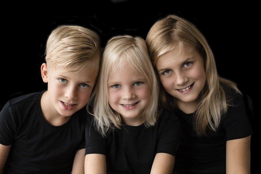 Mijn kinderen Veerle Tiemen en Liene